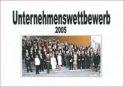 Unternehmenswettbewerb 2005 mit Familienministerin a.D. Renate Schmidt und Bundeskanzler a.D. Gerhard Schröder.