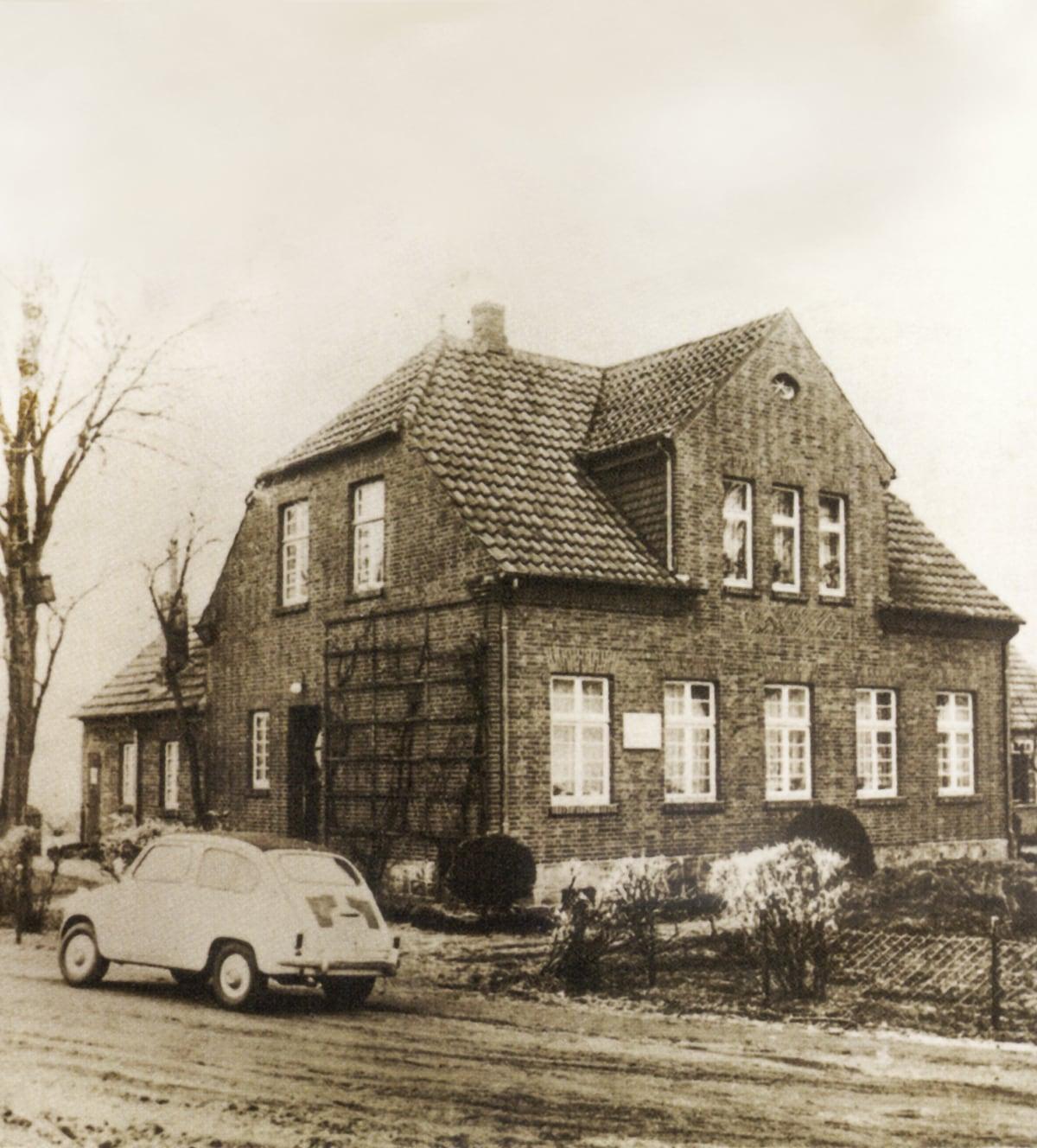 Steuerberatungsbüro Knollenborg in Lingen im Jahr 1930